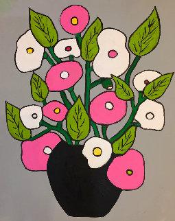 Still Life Nr 3 2018 20x14 Original Painting - Viorel Iarca