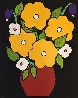 Still Life Nr 4 2018 20x16 Original Painting - Viorel Iarca