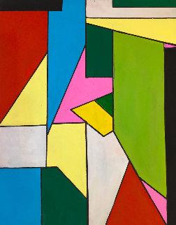 Point of View 2019 20x16 Original Painting - Viorel Iarca