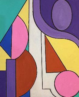 Together 2019 20x16 Original Painting - Viorel Iarca