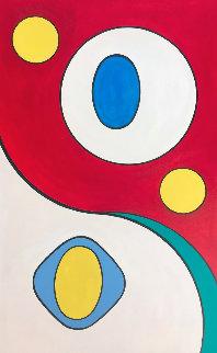 Untitled # 1 2020 48x30 Original Painting - Viorel Iarca