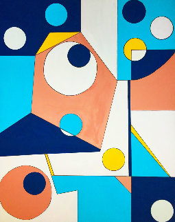 Untitled # 3 2020 60x48 Original Painting by Viorel Iarca