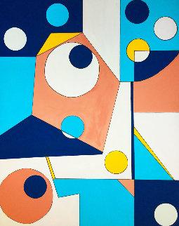 Untitled # 3 2020 60x48 Original Painting - Viorel Iarca