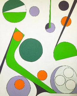 Untitled # 4 2020 60x48 Original Painting - Viorel Iarca