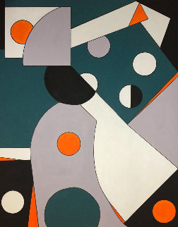 Untitled # 5 2020 60x48 Original Painting - Viorel Iarca