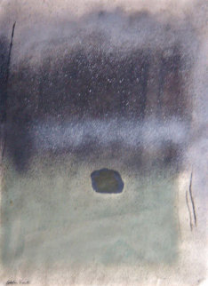 Untitled Pastel 1972  30x21 Works on Paper (not prints) - Esteban Vicente