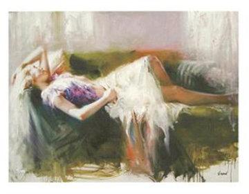 Beautiful Brushwork (Untitled #6) Limited Edition Print by  Vidan