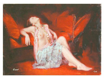 Restful Recline (Untitled #11)  Limited Edition Print by  Vidan
