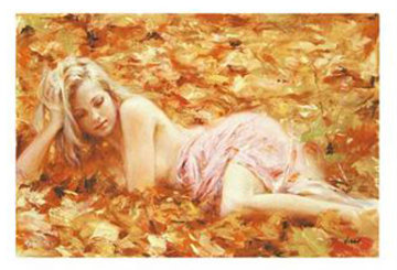 Quiet Repose (Untitled #19) Limited Edition Print by  Vidan