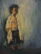 Little Boy Blue 36x24 Original Painting by John Vignari - 0