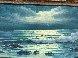 Evening Surf 1974 31x43 Original Painting by John Vignari - 2