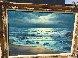 Evening Surf 1974 31x43 Original Painting by John Vignari - 1