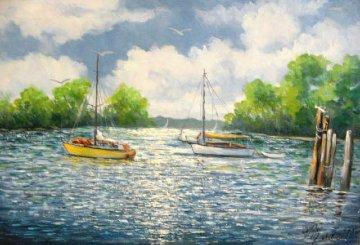 Yankee 20x30 Florida 26x36 Original Painting - John Vignari