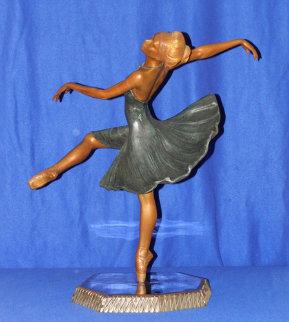 Attitude Bronze Sculpture 1995 Sculpture by Javier Villarreal
