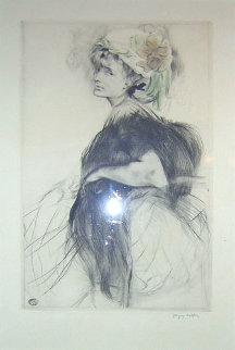 LILI Au Boa Noir 1907 Limited Edition Print by Jacques Villon