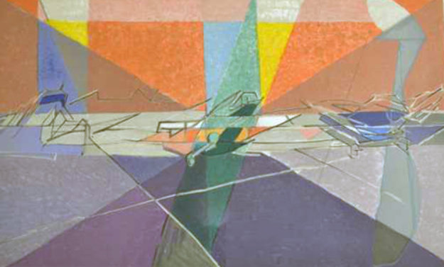 Orley 1962 Limited Edition Print by Jacques Villon