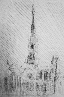 La Cathedrale De Rouen, France Limited Edition Print by Jacques Villon