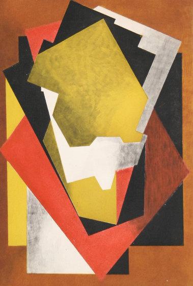Composition (Ginestet -  Pouillon E660) 1927 Limited Edition Print by Jacques Villon