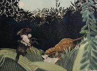 La Chasse Au Tigre (Ginestet-Pouillon 641) 1924 Limited Edition Print by Jacques Villon - 0