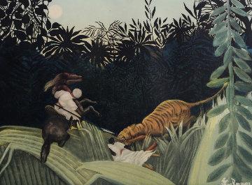 La Chasse Au Tigre (Ginestet-Pouillon 641) 1924 Limited Edition Print by Jacques Villon