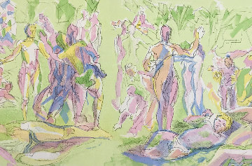 L 'Age D' Or   1953 Limited Edition Print by Jacques Villon