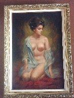 Untitled Painting 42x30 Huge Original Painting by Larry Garrison Vincent - 2