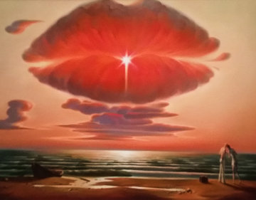 Farewell Kiss 2012 Limited Edition Print - Vladimir Kush