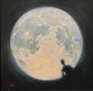 Moon Watch 2012 Limited Edition Print - Vladimir Kush