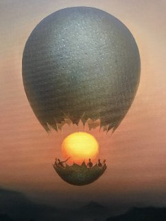 Flight of the Sun 2012 Limited Edition Print by Vladimir Kush
