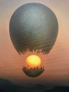 Flight of the Sun 2012 Limited Edition Print by Vladimir Kush