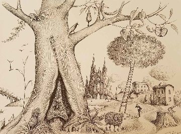 Tree of Life 2016 Limited Edition Print by Vladimir Kush
