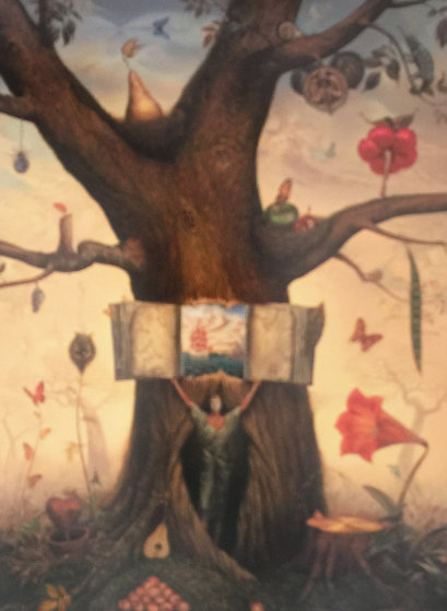 Genealogy Tree 2006 Limited Edition Print by Vladimir Kush