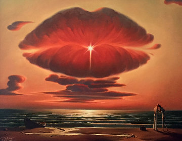 Farewell Kiss 2012 Limited Edition Print by Vladimir Kush