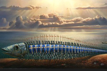 Crusaders 2007 Limited Edition Print by Vladimir Kush