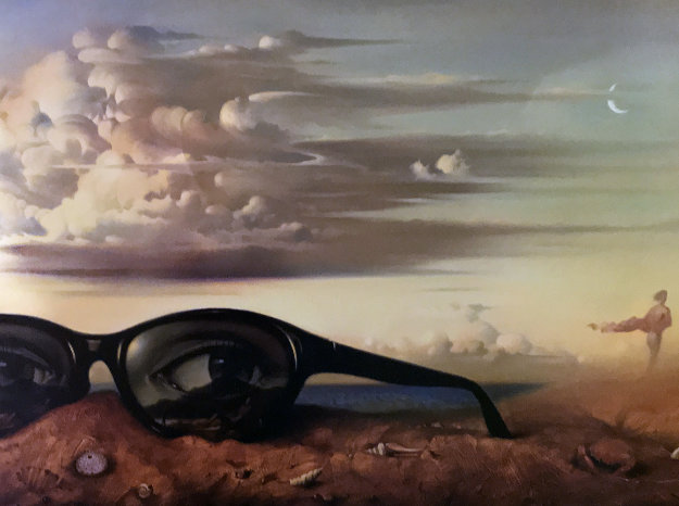 Forgotten Sunglasses 1999 Limited Edition Print by Vladimir Kush
