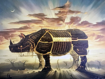 Trojan Horse 1999 Limited Edition Print - Vladimir Kush