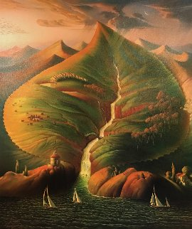 Ocean Sprouts 2002 Limited Edition Print by Vladimir Kush