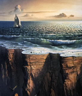 Edge of the Earth 2006 Limited Edition Print by Vladimir Kush