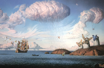 Metaphorical Journey 2001 Limited Edition Print by Vladimir Kush
