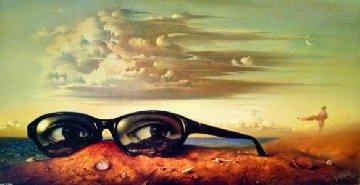 Forgotten Sunglasses 1999 Limited Edition Print by Vladimir Kush