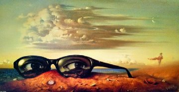 Forgotten Sunglasses 1999 Limited Edition Print - Vladimir Kush