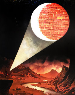 Darkside of the Moon Limited Edition Print by Vladimir Kush
