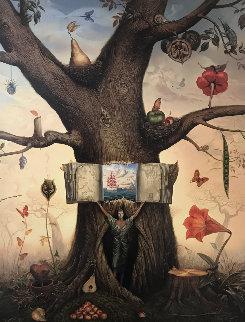 Genealogy Tree 2008 Limited Edition Print - Vladimir Kush
