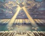 Symphony of the Sun 2016 43x52 Original Painting - Vladimir Kush