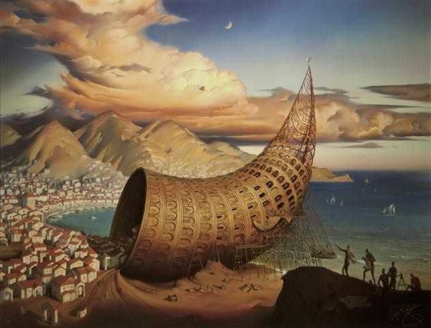 Horn of Babel 2011 Limited Edition Print by Vladimir Kush