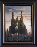 Purple Horse At Chartres 2006 Limited Edition Print by Vladimir Kush - 1