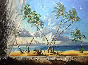 Ocean Breeze   46x58 Super Huge Limited Edition Print - Vladimir Kush