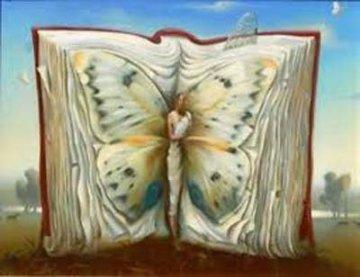 Book of Books Limited Edition Print - Vladimir Kush