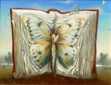 Book of Books Limited Edition Print by Vladimir Kush