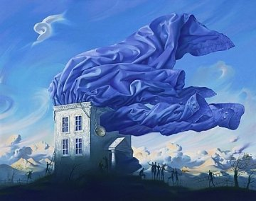 Wind 2000 Limited Edition Print by Vladimir Kush